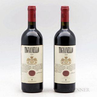Antinori Tignanello 2004, 2 bottles