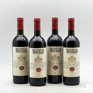 Antinori Tignanello 2006, 4 bottles