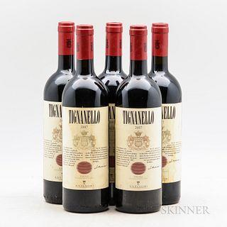 Antinori Tignanello 2007, 5 bottles