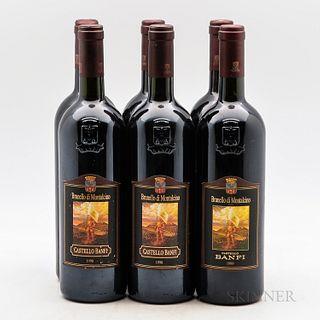 Castello Banfi Brunello di Montalcino, 6 bottles