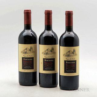 Fontodi Chianti Classico Riserva Vigna del Sorbo 2007, 3 bottles