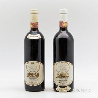 Mastrojanni Brunello di Montalcino Riserva 1982, 2 bottles