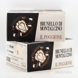 Il Poggione Brunello di Montalcino 2015, 12 bottles (2 x oc)