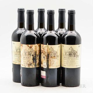 Inama Cabernet Sauvignon Bradisismo 1997, 6 bottles