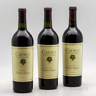 Caymus Cabernet Sauvignon 1994, 3 bottles