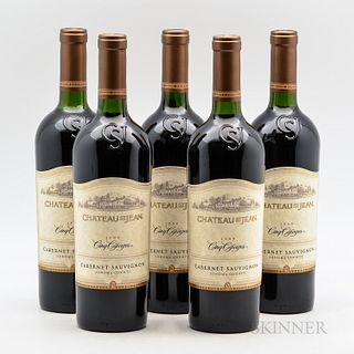 Chateau St. Jean Cabernet Sauvignon Cinq Cepages 1999, 5 bottles