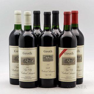 Groth, 7 bottles