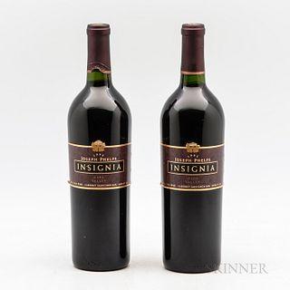 Joseph Phelps Insignia 1993, 2 bottles
