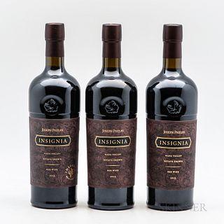 Joseph Phelps Insignia, 3 bottles