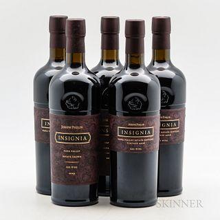 Joseph Phelps Insignia, 5 bottles