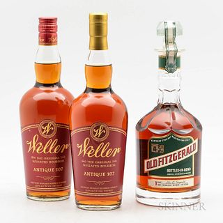 Mixed Bourbon, 3 bottles