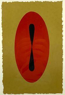 "John Pearson Silkscreen, ""Japan Series #8"""