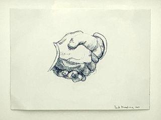 David Humphrey Drawing, Study of Hands