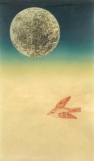 """Stas Orlovski, Mixed Media Print, """"Dream"""""""
