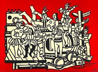 "Fernand Leger Lithograph ""La Grande Parade"""