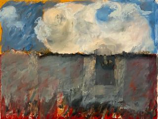 Leslie Miller Oil and Collage