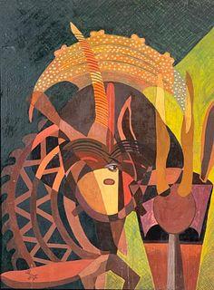 Beni Kosh Oil, Meditation on African Sculpture