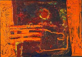 "Siegfried Snyder Oil, ""Revelation 8"""