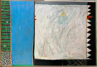 "Walter S. Fraunfelder III, Acrylic , ""Plantation"""