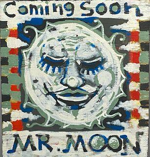 "Daniel Work Oil, ""Coming Soon Mr. Moon"""