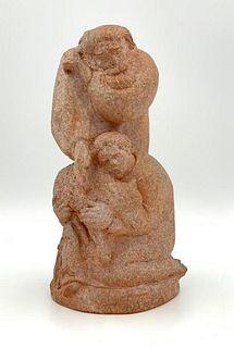 Walter Sinz Terracotta Sculpture