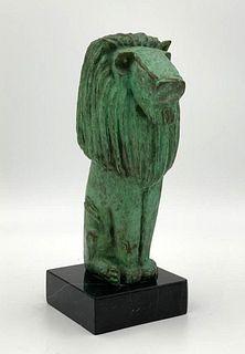 William McVey Bronze, Seated Lion