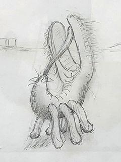 """Jason Hackenwerth Drawing, """"Proto 1"""""""