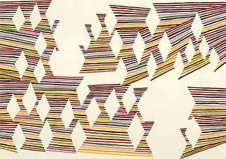 Howard Fonda Lithograph, Untitled
