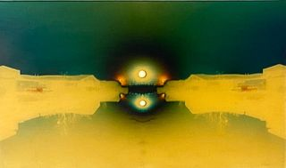 """J.Ivcevich Mixed Media, """"Luminous Canal"""""""