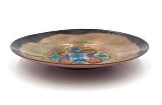 Doris Hall Enamel on Copper Dish