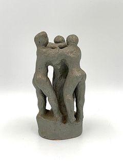 Hand Built Terracotta Sculptural Group