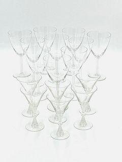 Lalique Crystal Stemware