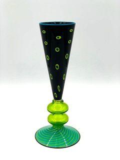 Art Glass Vase Possibly Italian