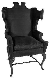 Arturo Pani Designed Mid Century Wingback Chair