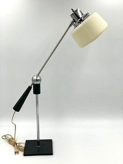 Vintage Gilbert Watrous Adjustable Table Lamp