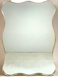 Modern Free Form Wall Mirror