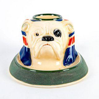 Rare Royal Doulton Bull Dog Match Striker