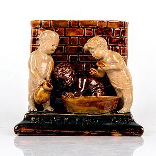 Doulton Lambeth Tinworth Vase, Failure Of Pears Soap