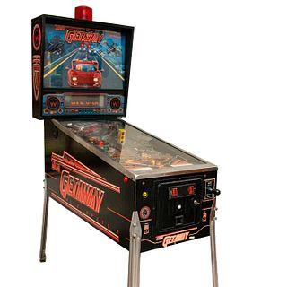 Williams 1992 Pinball Amusement Machine, The Getaway