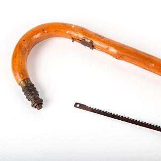 Briarwood Saw Patented Gadget Cane