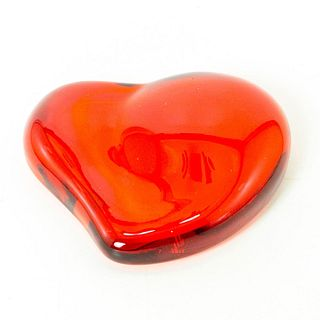 Tiffany & Co, Crystal Heart Paperweight