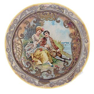 French Ivory Compact