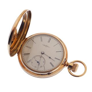 Elgin Gold Hunting Case Pocket watch