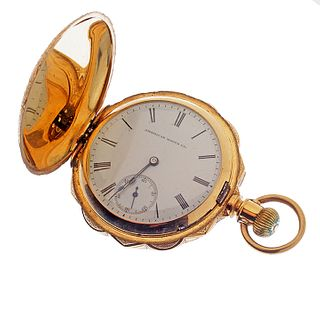 American Watch Co. 18k Hunting Case Pocket watch