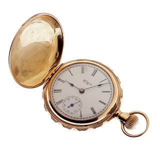 Multi-color Gold Elgin Pocket watch