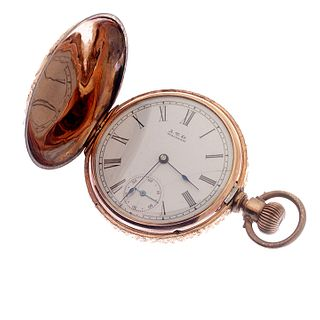 Multi-color Waltham Hunting Case Pocket watch