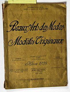 Beaux-Arts des Modes 1928
