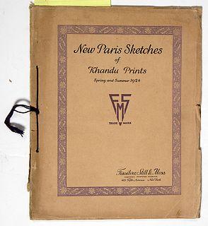 New Paris Sketches of Khandu Prints Fashion Catalog