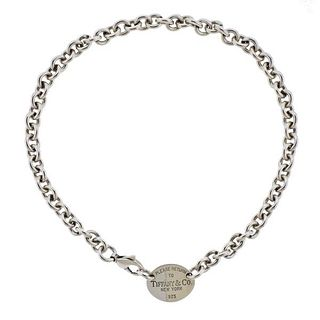 Tiffany & Co Return to Tiffany Sterling Silver Necklace