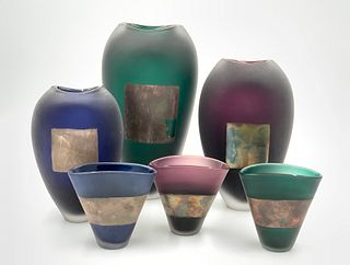 Adam Aaronson Glass Grouping